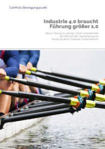 Titelblatt der ConMoto Broschüre BewegungsPunkt