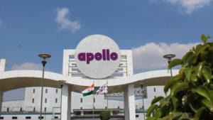 Das Werk von Apollo Tyres im indischen Chennai